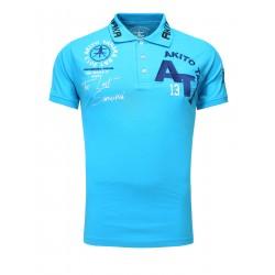 Pánské polo tričko Akito Tanaka 514 modré