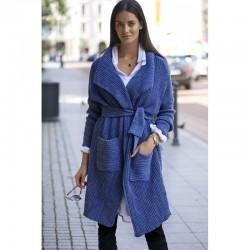 Trendy dámský kardigan Numinou modrý