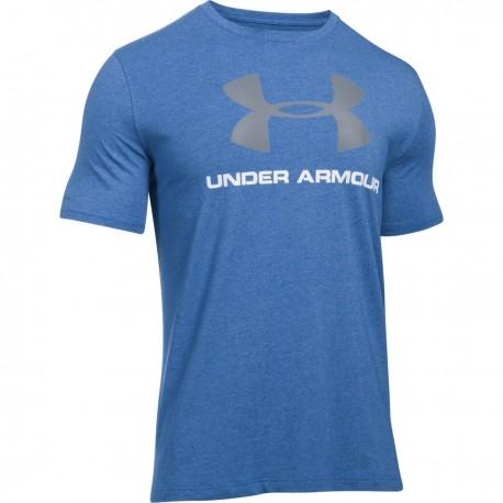 Pánské tričko Under Armour CC Sportstyle Logo, Velikost XXL, Barva Modrá Under Armour 1257615-402 190086806167