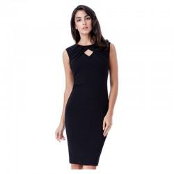 Dámské pouzdrové šaty Naomi černé