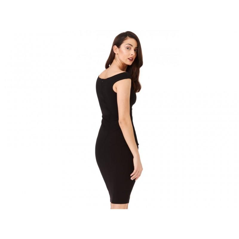 5b1542a7125f Dámské pouzdrové šaty Robyn černé