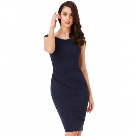 28ab63220b40 Dámské pouzdrové šaty Robyn tmavě modré