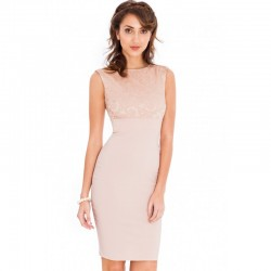 Dámské šaty bez rukávu Amelia tělové 580