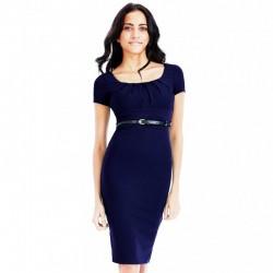 Dámské šaty Shannon tmavě modré