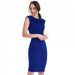 Dámské pouzdrové šaty Helen modré
