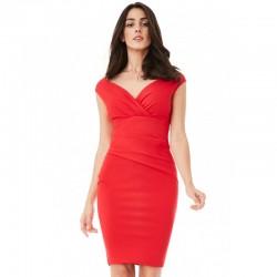 Dámské šaty CityGoddess Amy červené
