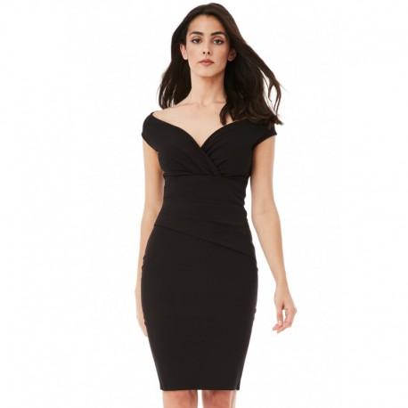 Dámské šaty CityGoddess Amy černé