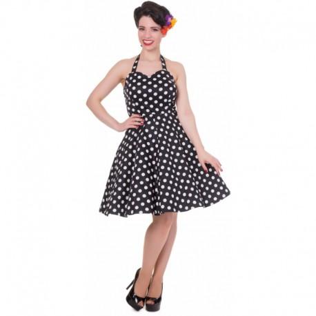 Dámské retro šaty Dolly and Dotty Marilyn černé
