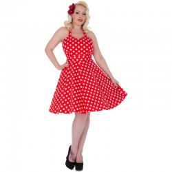 Dámské retro šaty Dolly and Dotty Marilyn červené