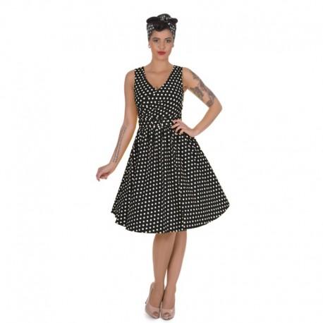 0fac91afdd2 Dámské retro šaty Dolly and Dotty May Swing černé