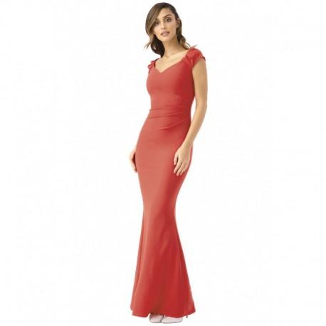 Společenské a plesové šaty Francesca červené 950516ff80