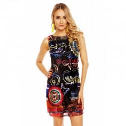 Dámské šaty Melissa vzorované