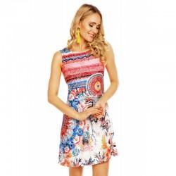 Dámské šaty Jess vzorované