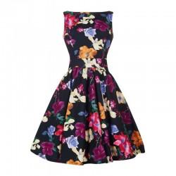 Dámské retro šaty Lady Vintage Nightshade