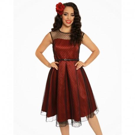 1ac1d96564f4 Dámské retro šaty Lindy Bop ALEENA