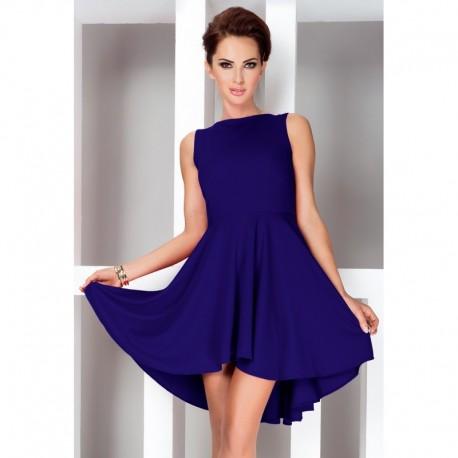 3bced2e5c0ab Dámské asymetrické šaty Lacosta - Exclusive modré