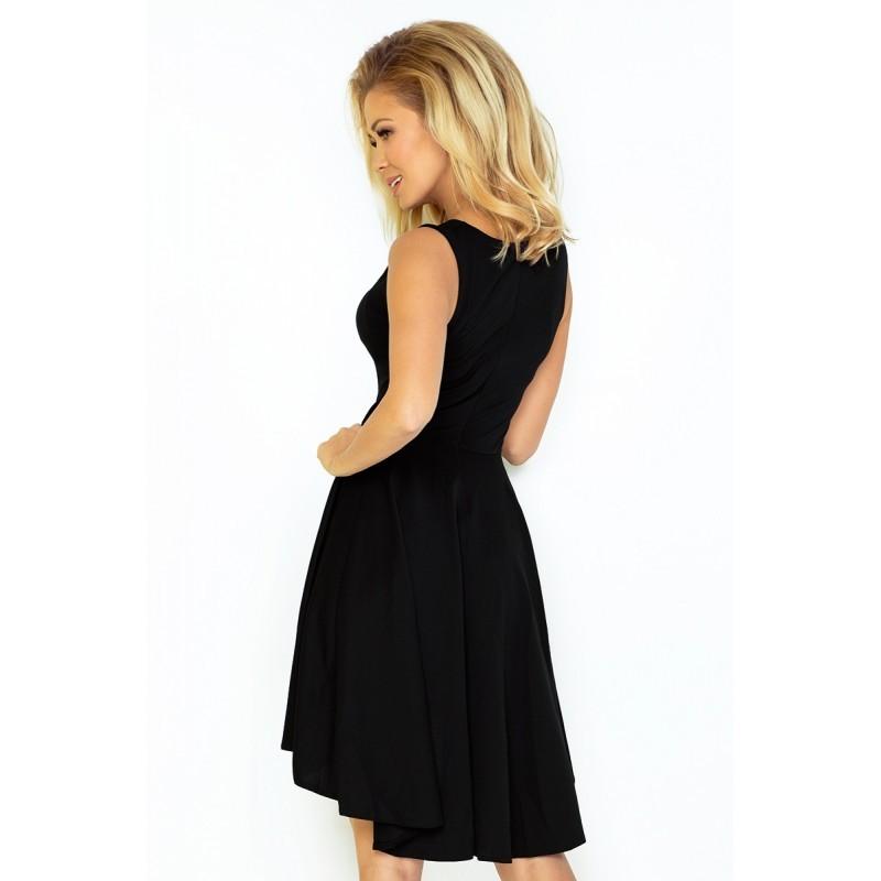 Dámské asymetrické šaty Exclusive bez rukávu černé 688b29ccd1