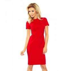 Dámské pouzdrové šaty Chelsea červené