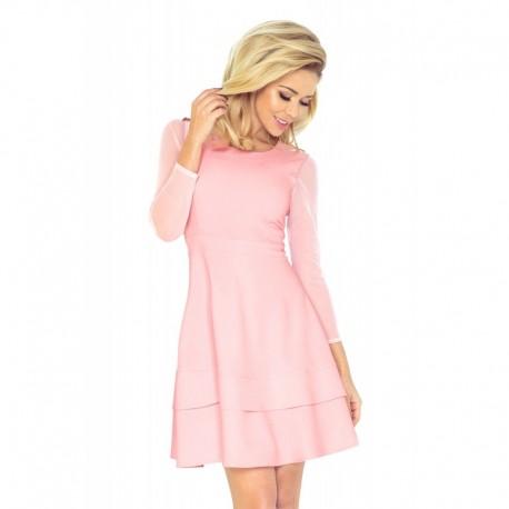 Dámské společenské šaty Jannet 1413 růžové 2977f46dc8