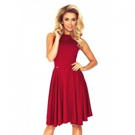 Dámské elegantní šaty Melanie vínové 9056f151c3