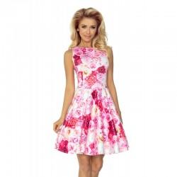 Dámské elegantní květinové šaty ROSE bez rukávu