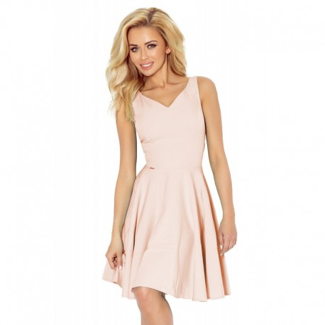 61a515be90f8 Dámské elegantní společenské a plesové šaty pudrové
