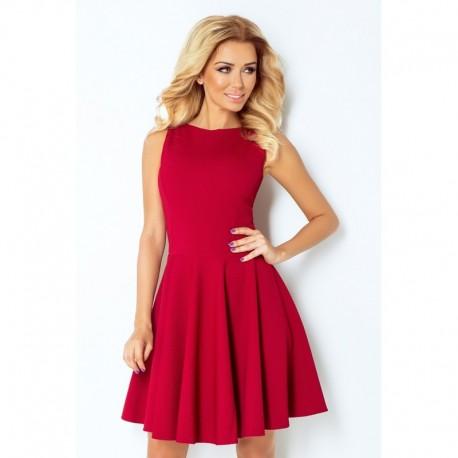65e5c771478 Dámské elegantní šaty bez rukávu vínové