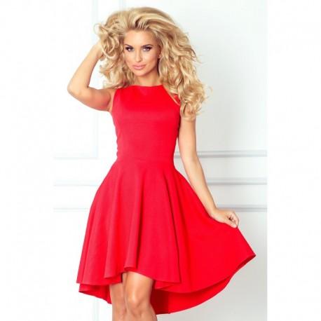 Luxusní dámské společenské a plesové šaty červené