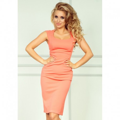 0fd705556d7c Dámské elegantní společenské šaty bez rukávu růžové