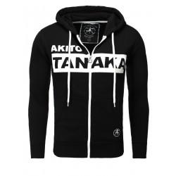 Pánská mikina AKITO TANAKA NAGANO s kapucí černá