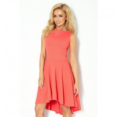Luxusní dámské společenské a plesové šaty korálové a061c89ee8