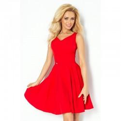 Dámské elegantní společenské a plesové šaty červené