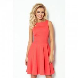 Dámské elegantní šaty korálové 984