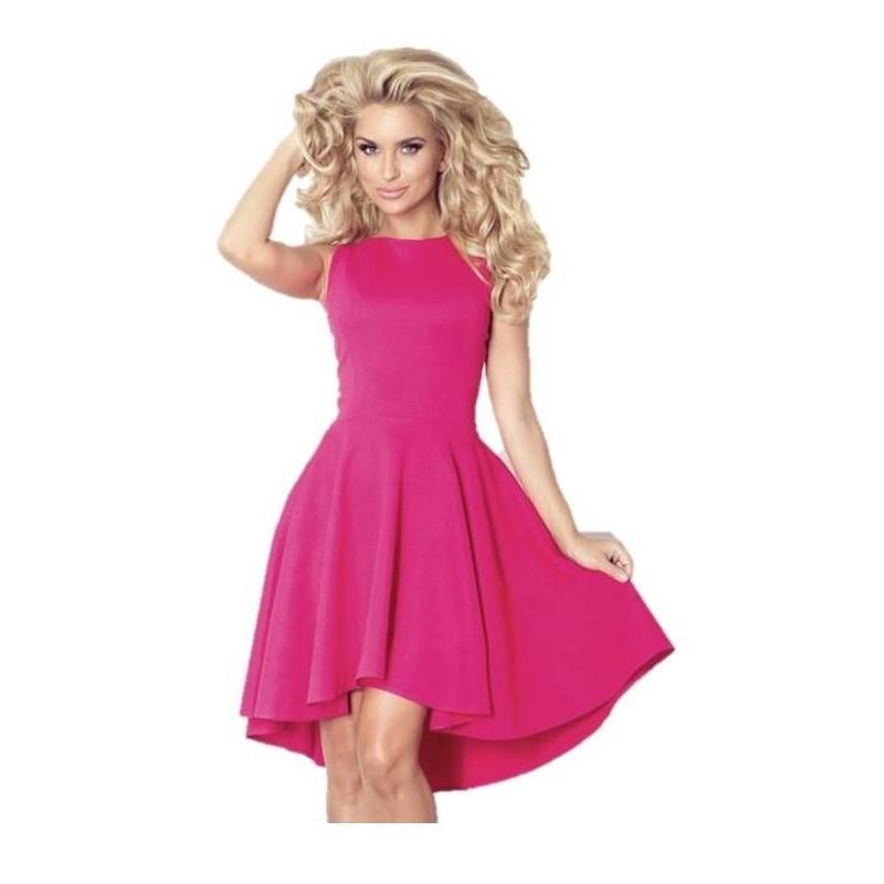 f704ea8f25f Luxusní dámské společenské a plesové šaty bez rukávu malinové