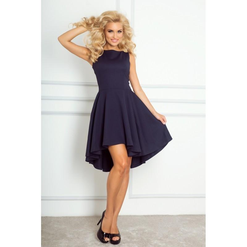 Luxusní dámské společenské a plesové šaty tmavě modré 66f06c502f