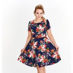 Dámské květované šaty Georgina