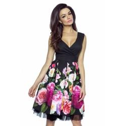 Krásné dámské šaty Victoria s tylovou spodničkou