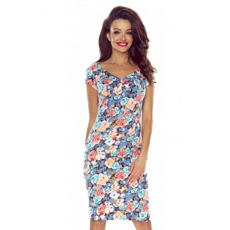 Dámské šaty s květovanými vzory