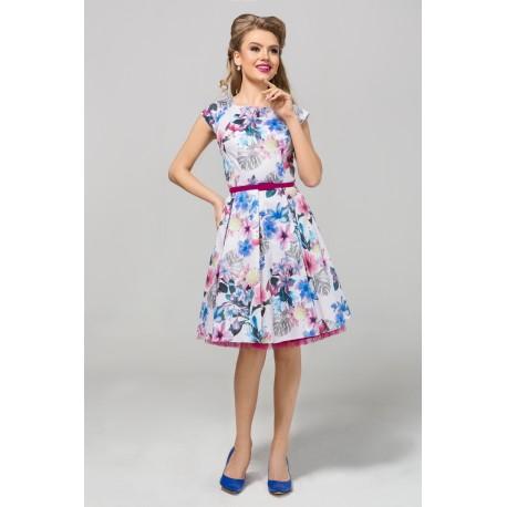Dámské květované šaty CHANTAL