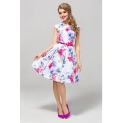 Šaty s květy PATRICIA