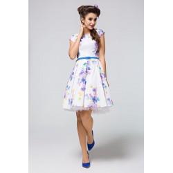 Šaty s květy MICHELE