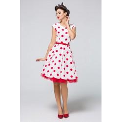 Šaty s puntíky PAULETTE