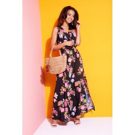 Dlouhé letní šaty Mosquito, Velikost S, Barva Barevná MOSQUITO 684541684