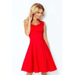Dámské šaty ROCKABILLY červené  3018