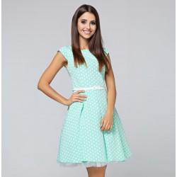 Šaty AURELIE s puntíky