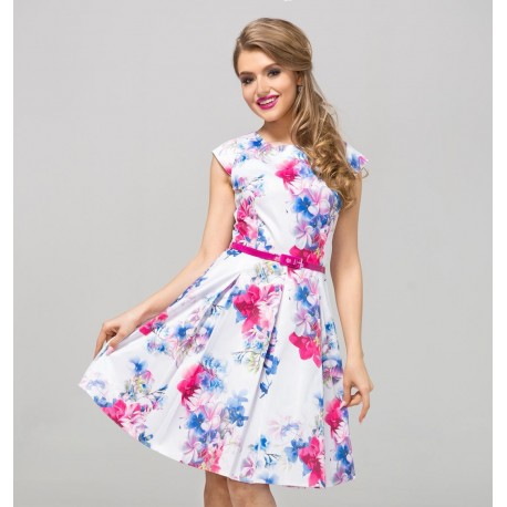 Šaty s květy PATRICIA 3ae23a80700