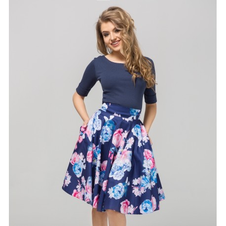 Dámská květovaná sukně Gotta 77a7b6a9e2
