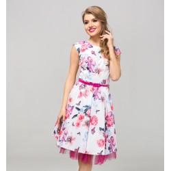 Dámské květované šaty CATHERINE