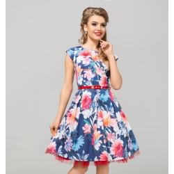 Dámské květované šaty NATHALIE