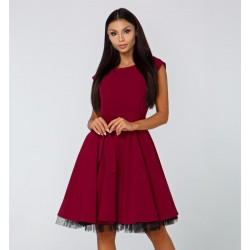 Dámské šaty Alessia vínové